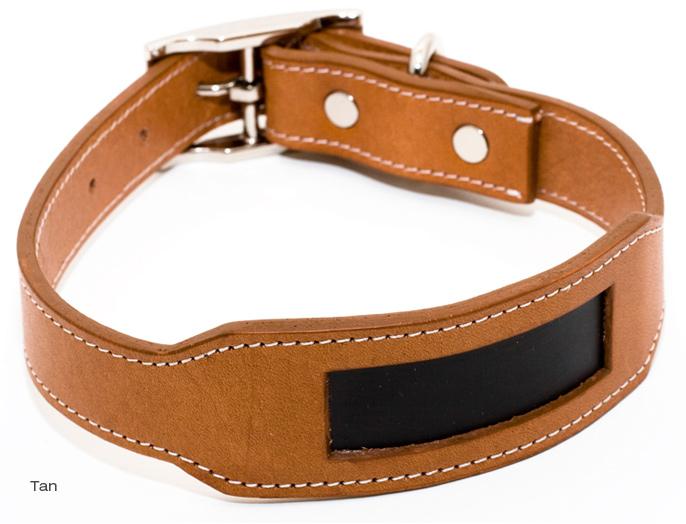 Tan Leather Collar